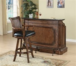 Bar Unit in Brown Finish by Coaster - 100173