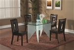 Cal 5 Piece Dining Table Set by Coaster - 100480