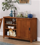 Marbrisa Server in Burnished Oak Finish by Coaster - 100626