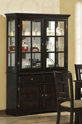 Baldwin Dining Buffet and Hutch in Deep Cappuccino Finish by ...