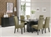 Stanton 5 Piece Dining Set in Rich Black Finish by Coaster - 102061