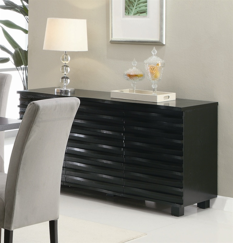 Stanton Counter Height Dining Table In Black: Stanton 5 Piece Counter Height Dining Set In Rich Black