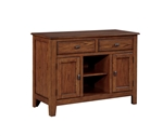 Nelms Server in Deep Brown Finish by Coaster - 102175