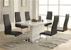 5 Piece Dining Set by Coaster - 102310B