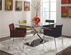 5 Piece Dining Set by Coaster - 102320M