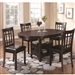 Lavon 5 Piece Dining Set in Espresso Finish by Coaster - 102671