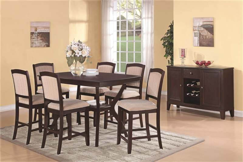 ... Patio Furniture Memphis Picture On Memphis82784873 With  41b9a741e2e7f60d61dc04c5c27e3724; Memphis 5 Piece Dining Set In Rich  Cappuccino Finish By ...