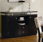 Libby Server in Dark Cappuccino Finish by Coaster - 103165