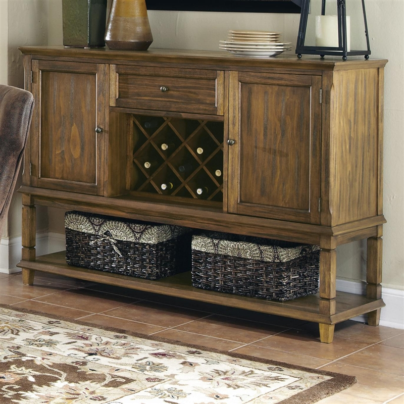 Parkins Server in Coffee Finish by