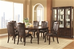 Louanna 5 Piece Dining Table Set in Espresso Finish by Coaster - 104841