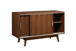 Malone Server in Rich Walnut Finish by Coaster - 105365