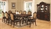 Abigail 7 Piece Traditional Dining Set in Dark Cherry Finish by Coaster - 105511