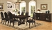 Bedford 7 Piece Dining Set in Mahogany Finish by Coaster - 105601