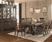 Carlsbad 7 Piece Dining Set in Vintage Espresso Finish by Coaster - 105731