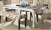 Matisse 5 Piece Dining Set in Antique White Two Tone Finish by Coaster - 106111-5