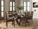 Alston 5 Piece Dining Set in Knotty Nutmeg Finish by Coaster - 106381