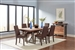 Spring Creek 5 Piece Dining Set in Natural Walnut and Espresso Finish by Coaster - 106581