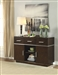 Lincoln Server in Dark Brown Finish by Coaster - 106895