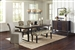 Keller 5 Piece Dining Set in Rustic Dark Brown Finish by Coaster - 106941-5