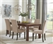 Coleman 5 Piece Dining Set in Rustic Golden Brown Finish by Coaster - 107041-B