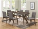 Mcbridge 5 Piece Dining Set in Warm Brown Finish by Coaster - 107191