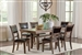 Bustamante 5 Piece Dining Set in Drifted Sand Finish by Coaster - 107641