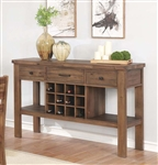Tucson Server in Natural Wood Finish by Coaster - 108175