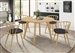 Merced 5 Piece Round Dining Set in Danish Natural Finish by Coaster - 109441