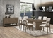 Torrington 5 Piece Dining Set in Wheat Brown Finish by Coaster - 109821