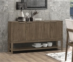Torrington Server in Wheat Brown Finish by Coaster - 109825
