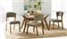 Paxton 5 Piece Rectangular Dining Set in Nutmeg Finish by Coaster - 122171