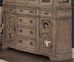 Ilana Buffet in Antique Linen Finish by Coaster 122214B