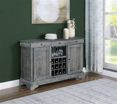 Darcy Server in Weathered Ash Finish by Coaster - 123095