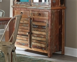 Highland Server in Reclaimed Wood Multicolor Finish by Coaster - 180174B
