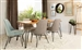 Sherman 5 Piece Dining Set in Natural Acacia Finish by Coaster - 190911-C