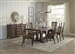Avenue Rectangular Table 7 Piece Dining Set in Weathered Burnished Brown Finish by Coaster - 192741-7