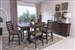 Avenue Counter Height Table 5 Piece Dining Set in Weathered Burnished Brown Finish by Coaster - 192748