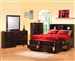 Phoenix Storage Bed 6 Piece Bedroom Set in Rich Deep Cappuccino Finish by Coaster - 200409