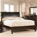 Phoenix Platform Bed in Rich Deep Cappuccino Finish by Coaster - 200410Q