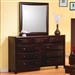 Phoenix Dresser in Rich Deep Cappuccino Finish by Coaster - 200413