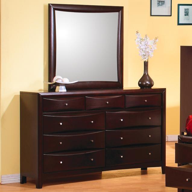 Phoenix Dresser in Rich Deep Cappuccino Finish by Coaster - 200413