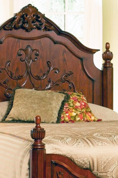 Isabella 6 Piece Bedroom Set in Oak Finish by Coaster - 200511