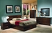 Jessica Platform Bed 6 Piece Bedroom Set in Cappuccino Finish by Coaster - 200711