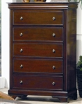 Versailles Chest in Deep Mahogany Finish by Coaster - 201485
