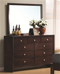 Serenity Dresser in Rich Merlot Finish by Coaster - 201973