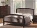 Tia Bed in Cappuccino Finish by Coaster - 202081Q