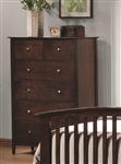 Tia Chest in Cappuccino Finish by Coaster - 202085