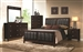Carlton 6 Piece Bedroom Set in Cappuccino Finish by Coaster - 202091