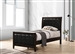 Carlton 4 Piece Youth Bedroom Set in Cappuccino Finish by Coaster - 202091T