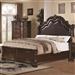 Maddison Bed in Warm Cappuccino Finish by Coaster - 202260Q